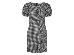 Kort kjole i tern